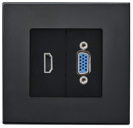 vga و HDMI سفید
