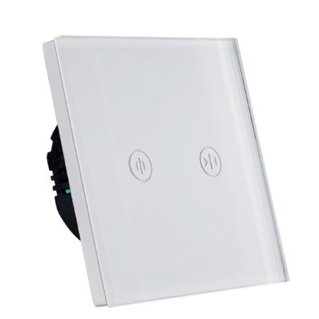 کلید لمسی پرده برقی سفید